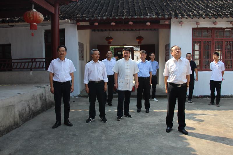江苏省民宗委一级巡视员何昌林赴苏州检查宗教活动场所安全工作