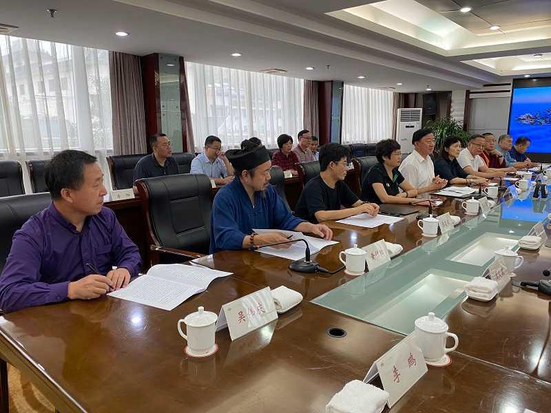 北京市宗教代表团赴南水北调核心水源区十堰市考察