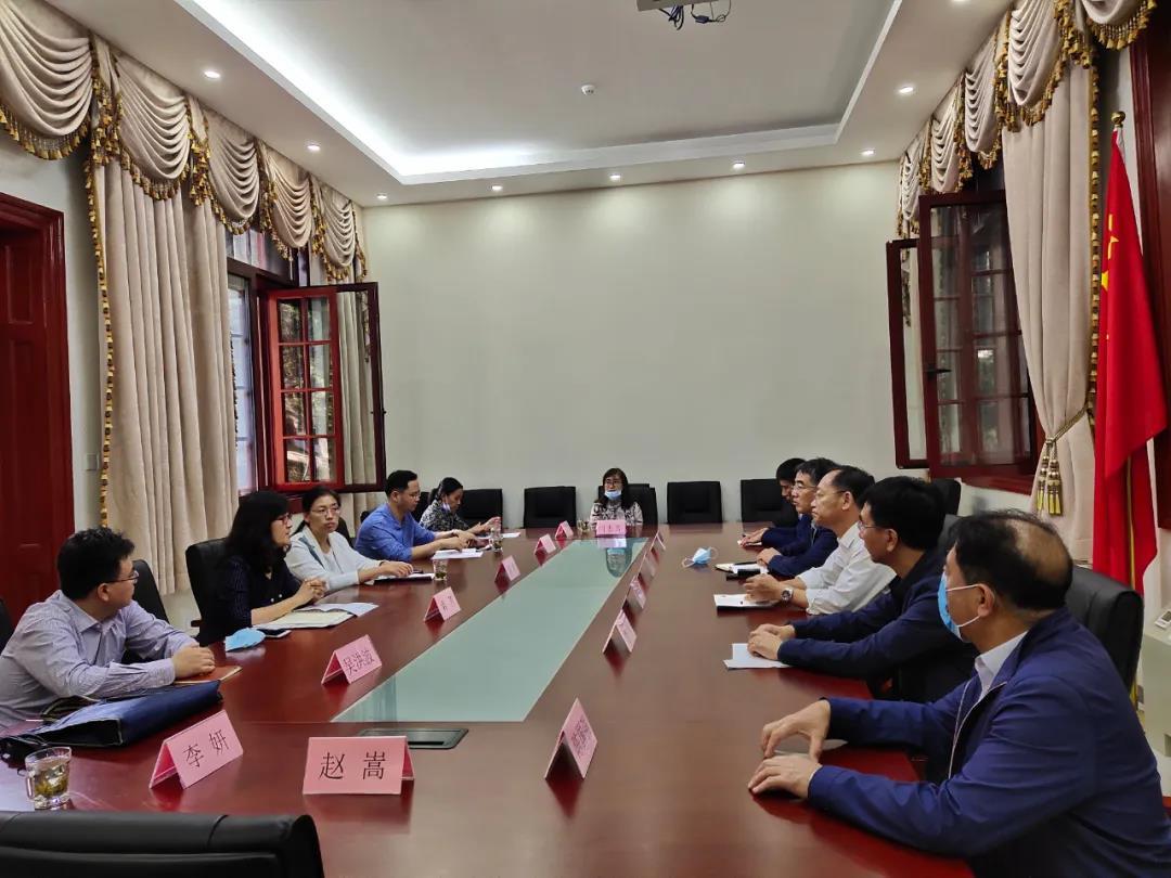 辽宁省葫芦岛市到北京市学习考察宗教工作
