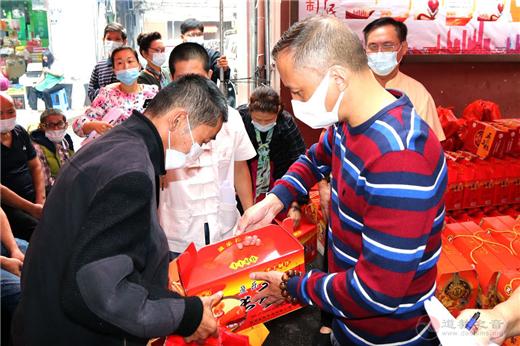 福州裴仙宫举办扶贫助困暖人心公益活动