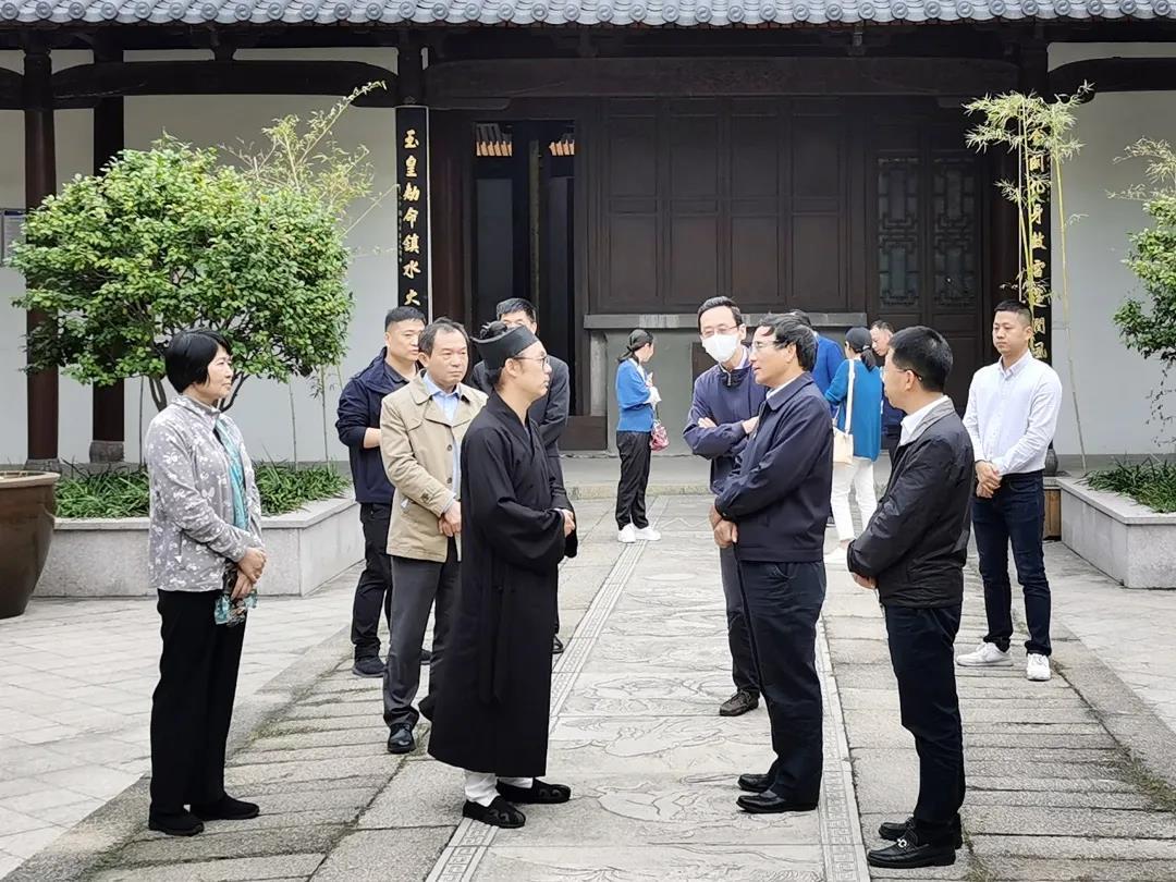 上海市杨浦区赴浙江温州学习调研民族宗教工作
