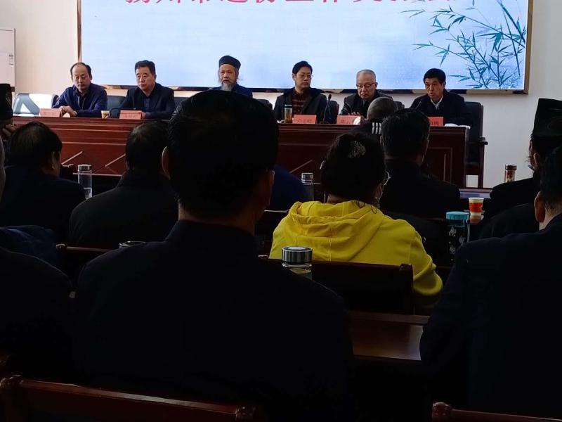 扬州市道教协会举办第三届玄门讲经活动