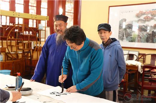 中国(崂山)道家书画院组织书画艺术家开展采风笔会活动