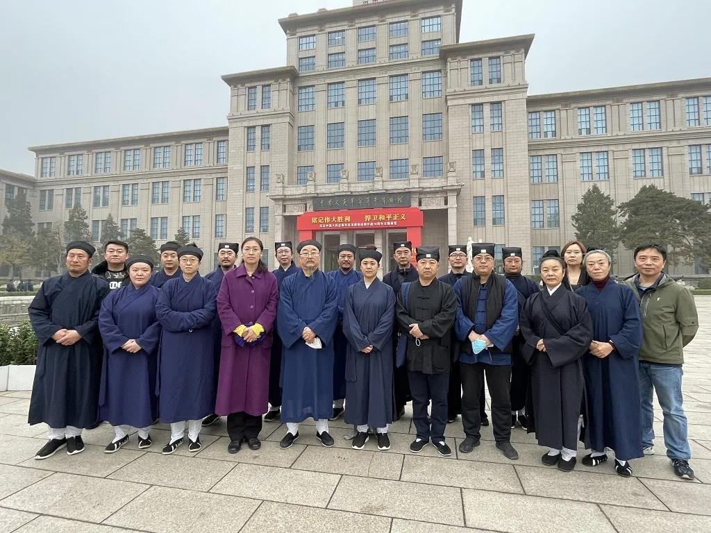 北京市道协参观纪念抗美援朝出国作战70周年主题展览