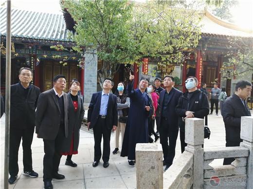 银川市委统战工作培训班到云南省道协学习观摩