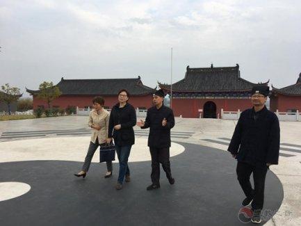 南京市委统战部副部长王薇一行走访市道协