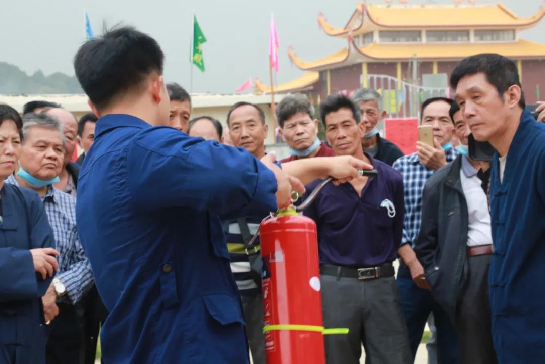 福州市闽侯县道教协会开展消防安全培训