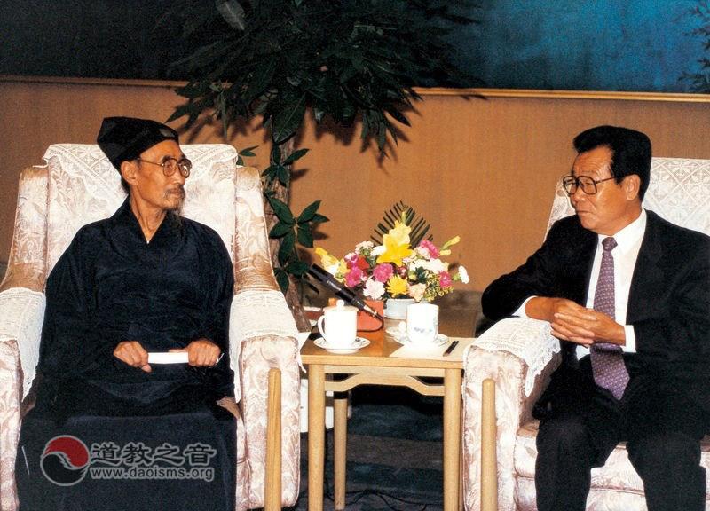 中国道教协会第六届会长闵智亭道长
