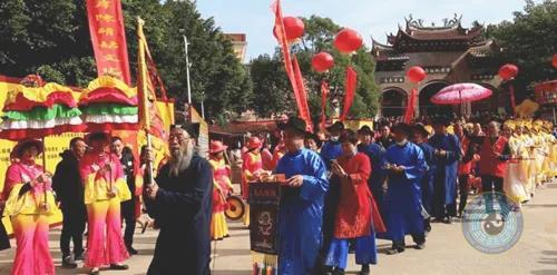 海峡两岸第二届陈靖姑文化交流活动在莆田嵩山举行
