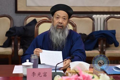 中国道教协会召开十届二次会长会议 学习汪洋主席讲话精神