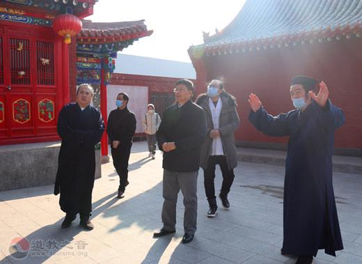 广西民宗委组织五大宗教团体代表赴太原市道教协会调研