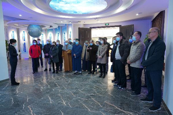 广东省民族宗教委组织宗教界人士参观反邪教警示教育基地