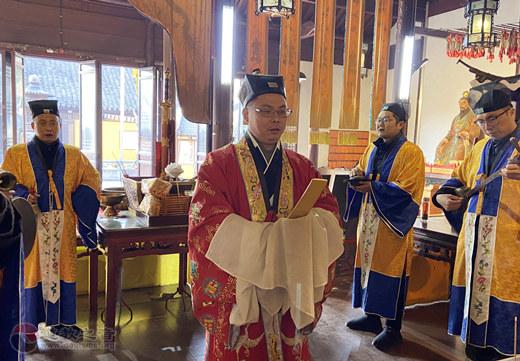 苏州城隍庙组织恭贺玉清元始天尊宝诞系列活动