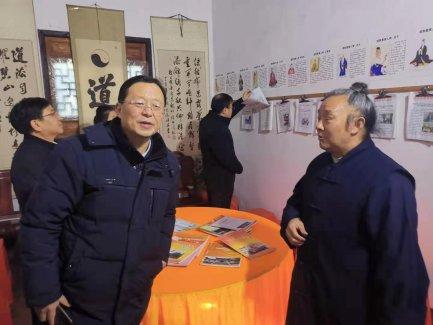 《中国宗教》杂志社社长刘金光一行到贵州省调研