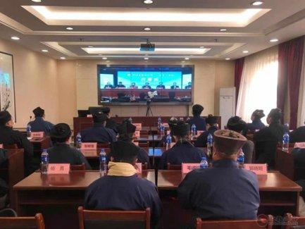 吉林省道教协会组织观摩中国道教协会第十二届玄门讲经活动