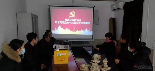 保定市徐水区道协学习贯彻党的十九届五中全会精神