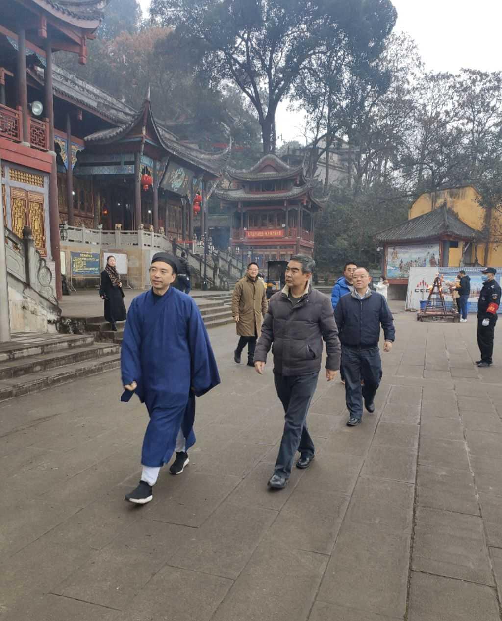 重庆市民族宗教委主任丁时勇到南岸区检查宗教活动场所安全