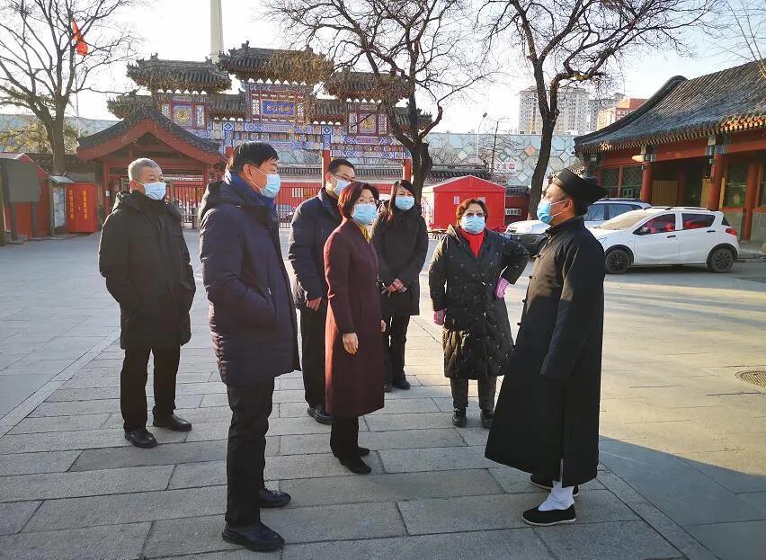 北京市领导检查元旦期间宗教活动场所疫情防控和安全工作