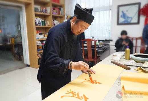 丹青熠熠墨韵长 书画笔会迎新春
