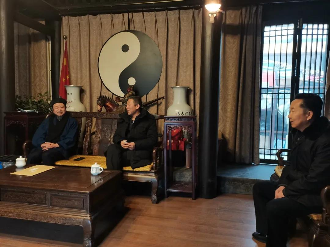 北京市民族宗教委副主任孙启到市道协检查工作