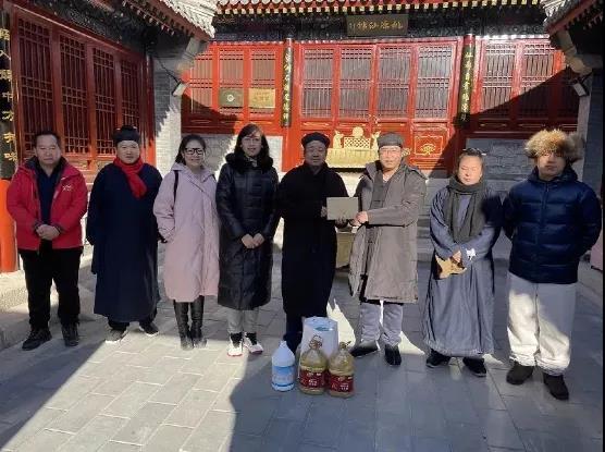 北京市道协领导赴昌平、海淀道教场所检查疫情防控工作及慰问