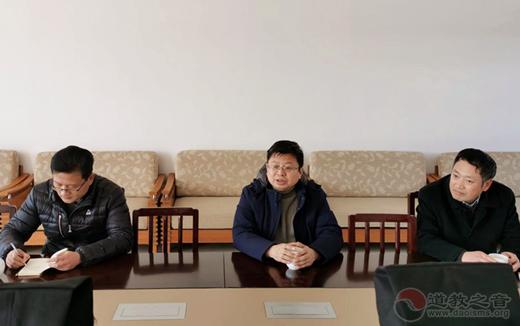 南京市民宗局副局长纪勤一行到市道协走访慰问