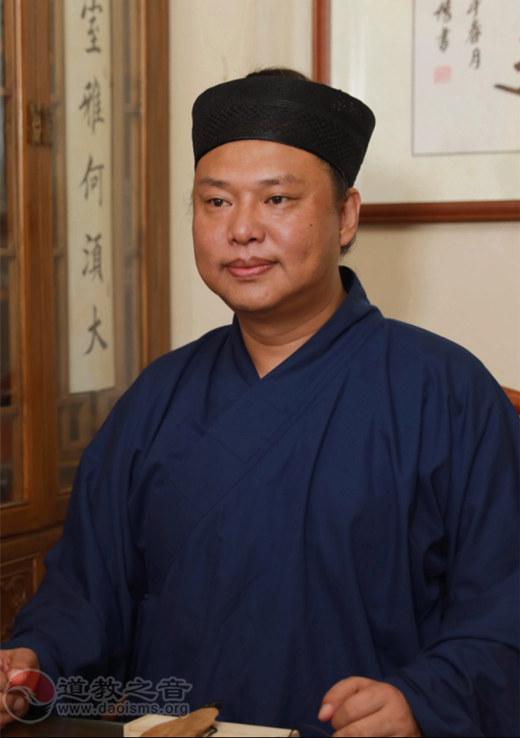 中国道教协会副秘书长、山西省道教协会会长文崇斌道长