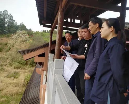 江西省民宗局副局长马哲海一行到龙虎山检查指导工作