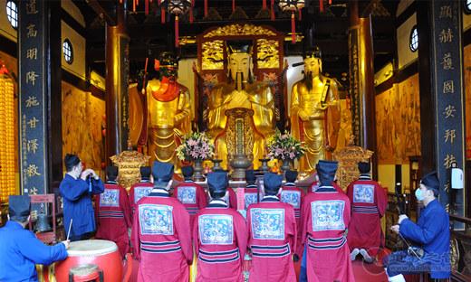 """上海城隍庙为著名道教学者施舟人先生举行""""终七功德道场"""""""