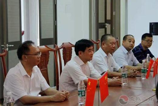 广西岑溪市委常委、统战部长一行参访普宁市七星洞道观
