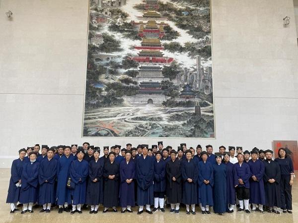 北京市道教协会组织教职人员重温红色记忆