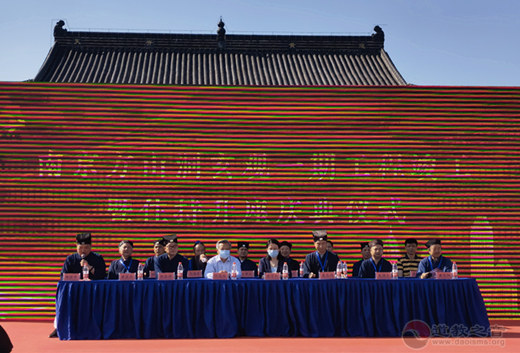 南京方山洞玄观一期工程竣工暨住持升座仪典成功举行