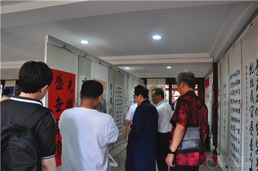 上海市浦东新区道协举办庆祝建党一百周年书画作品展