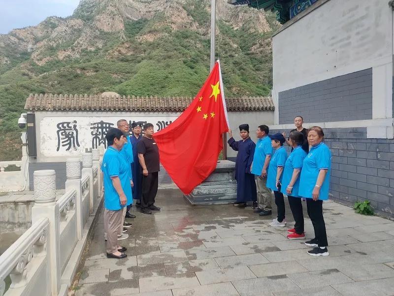 首都道教界庆祝中国共产党百年华诞感言
