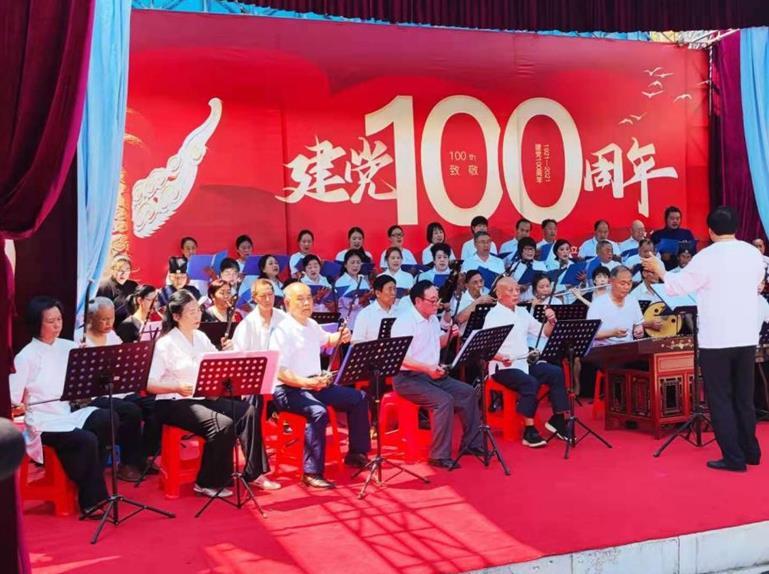 湖北省荆门市道教协会举办庆祝建党100周年主题音乐会
