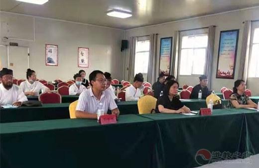 河南省濮阳市道教界举办2021年度讲经讲道评比活动