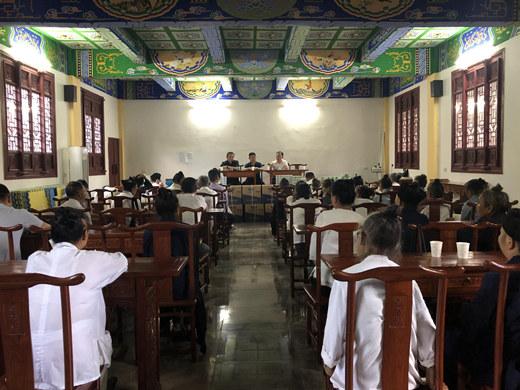 湖北省蕲春县道教协会组织开展宗教政策法规学习培训