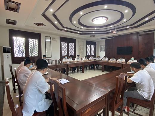 苏州城隍庙开展疫情防控工作部署会议