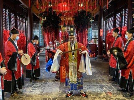 """苏州城隍庙""""拜月老·祈良缘""""祈福法会功德圆满"""