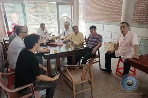福建省莆田市道协相关负责人到石狮城隍庙交流访问