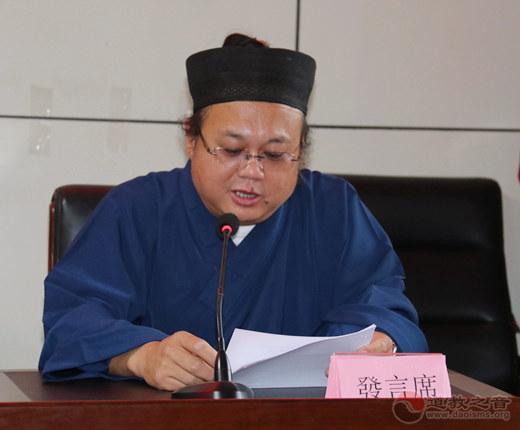 太原市宗教团体负责人联席会议2021年第三次会议在晋源区太玄宫召开