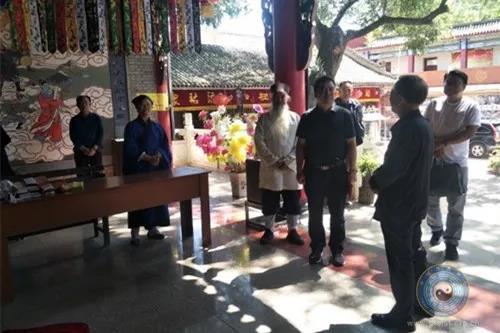甘肃省道教协会调研组赴白银、定西道教活动场所调研
