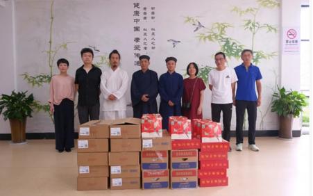 杭州市萧山区道教协会开展中秋节慰问活动
