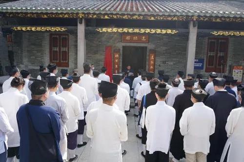 """广州市道教三元宫举行""""宗教界廉洁自律示范"""