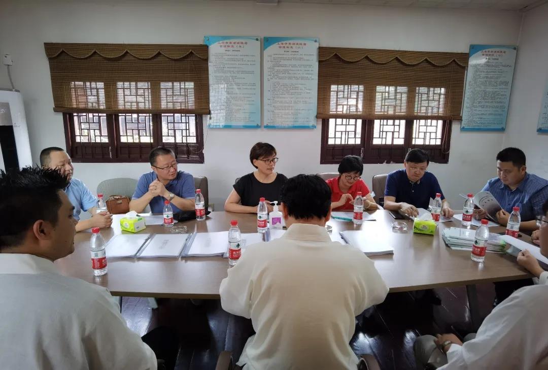 上海市青浦区开展上海市文明和谐寺观教堂等