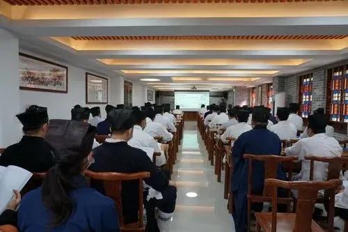 """广州市道教协会举办""""国法与教规""""专题学习"""