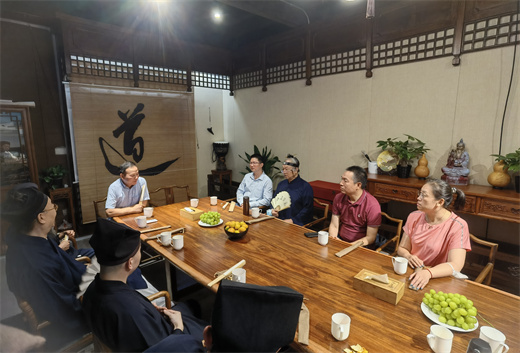北京市道协组织教职人员赴浙江省开展爱国主义教育活动