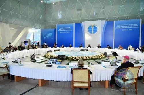 中国道教协会副会长张高澄道长出席世界和传统宗教领袖大会秘书处会议
